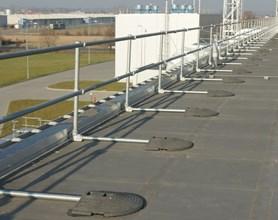 Kee Klamp Handrails Pedestrian Guardrails Amp Roof Edge